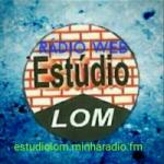 Logo da emissora Rádio Web Estúdio Lom