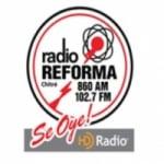 Logo da emissora Radio Reforma 860 AM