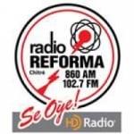 Logo da emissora Radio Reforma 102.9 FM