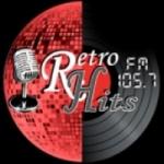 Logo da emissora Radio Retro Hits 105.7 FM
