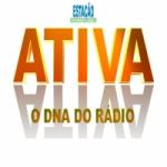Logo da emissora Rádio Estação Ativa