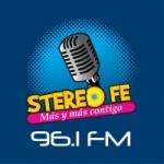 Logo da emissora Radio Stereo Fe 96.3 FM