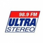 Logo da emissora Radio Ultra Stereo 98.9 FM
