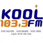 Logo da emissora Radio Kool 103.3 FM