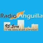 Logo da emissora Radio Anguilla 95.5 FM
