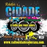 Logo da emissora Rádio Cidade Soberana