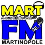 Logo da emissora Mart Fm Martinópole