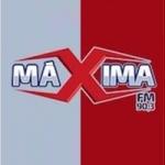 Logo da emissora Rádio Máxima 90.3 FM