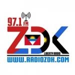 Logo da emissora Radio ZDK 97.1 FM