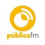 Logo da emissora Radio Pública 105.3 FM