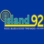 Logo da emissora Radio Island 92 91.9 FM
