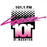 Logo da emissora Radio Laser 101.1 FM