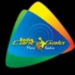 Logo da emissora Cantagalo FM