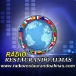 Logo da emissora Rádio Restaurando Almas