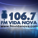 Logo da emissora Fm Vida Nova