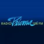 Logo da emissora Radio Paloma 106 FM