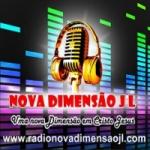 Logo da emissora Rádio Nova Dimensão JL