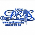 Logo da emissora Radio Pros 105.8 FM