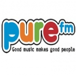 Logo da emissora Radio Pure 101.1 FM