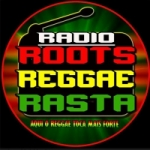 Logo da emissora Rádio Roots Reggae Rasta