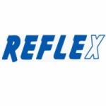 Logo da emissora Radio Reflex 104.8 FM