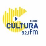 Logo da emissora Rádio Cultura 92.1 FM