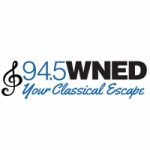 Logo da emissora WNED 94.5 FM