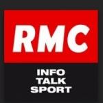 Logo da emissora Radio RMC 98.8 FM