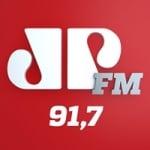 Logo da emissora Rádio Jovem Pan Itapeva 91.7 FM
