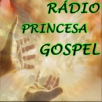 Logo da emissora Rádio Princesa Gospel