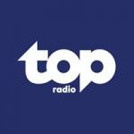 Logo da emissora Radio Top 104.2 FM