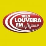 Logo da emissora Rádio Louveira 105.9 FM