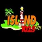 Logo da emissora Radio Island 102.9 FM