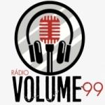 Logo da emissora Rádio Volume 99