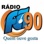 Logo da emissora Rádio Fã 90