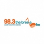Logo da emissora Radio The Breeze 98.3 FM
