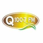 Logo da emissora Radio Q 100.7 FM