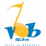 Logo da emissora Radio VOB 92.9 FM