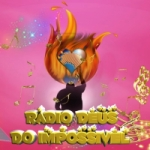 Logo da emissora Rádio Deus do Impossível