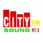 Logo da emissora Radio City Sound 97.5 FM