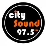 Logo da emissora Radio City Sound 97.5 FM