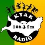 Logo da emissora Radio KYAK 106.3 FM