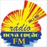 Logo da emissora Nova Opção FM