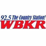 Logo da emissora Radio WBKR 92.5 FM