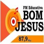 Logo da emissora Rádio Educativa Bom Jesus 87.9 FM