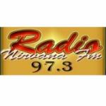 Logo da emissora Radio Nirvana 97.3 FM