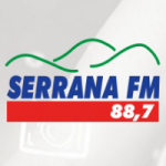 Logo da emissora Rádio Serrana 88.7 FM