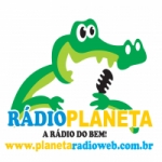 Logo da emissora Planeta Web Rádio