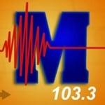 Logo da emissora Radio Melodie 103.3 FM