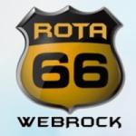 Logo da emissora Rota 66 WebRock